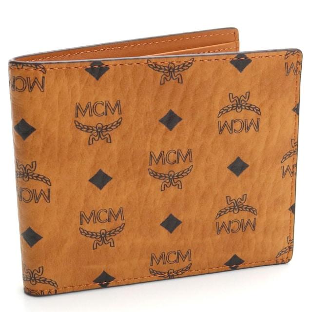 エムシーエム 二つ折り財布 MXSAAVI04 CO001 メンズ  < ブランドの