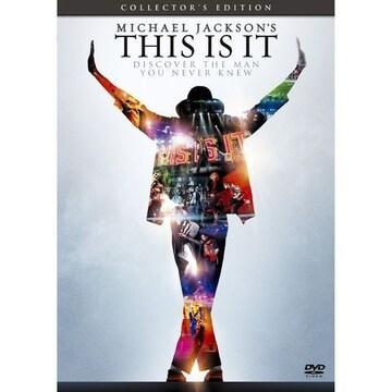 ★即決DVD新品★マイケル・ジャクソン THIS IS IT コレクターズ