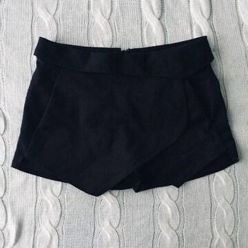 ZARA 美品 ショートパンツ ブラック