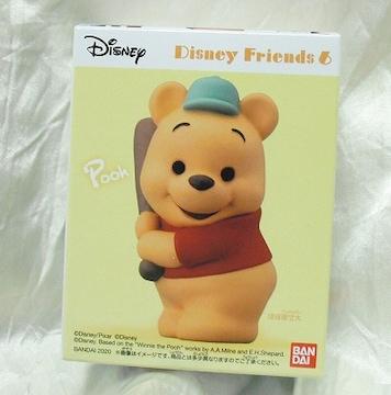Disney Friends 6 くまのプーさん ディズニーフレンズ 新品 即決
