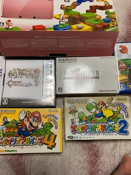 3DS.DS.本体2台、ゲーム6本セットです^_^