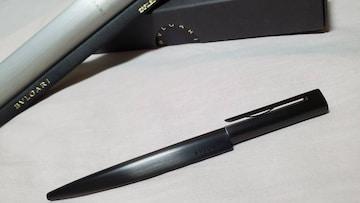 正規レア ブルガリ クラシック エンブレムロゴ×エキセントリカ ラインエッジボールペン 付属有