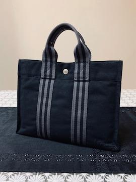 ◆正規品◆ 極美品 ◆ エルメス フールトゥ トート バッグ 黒