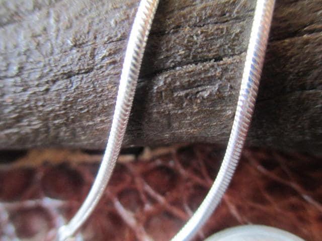 イタリア製シルバー925チェーン  1.8mm  60cm 15.5g *Snake050  < 男性アクセサリー/時計の