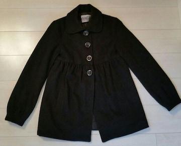●ZARA●Aラインコート/ブラック/sizeS