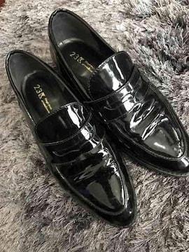 23区新品同様靴!楽チン☆23センチ☆黒