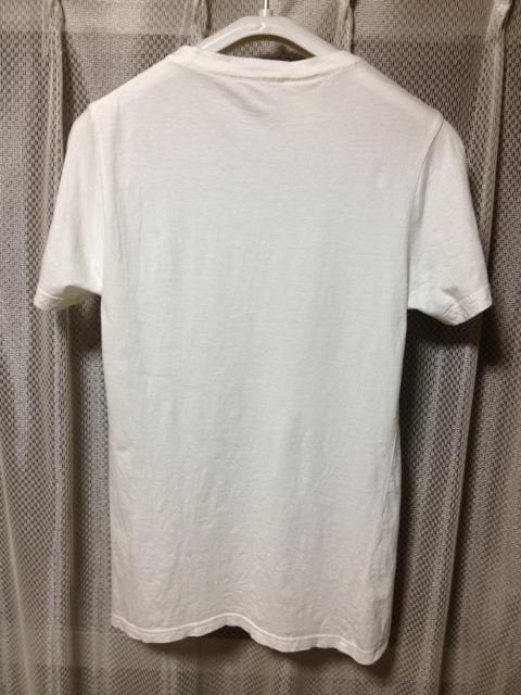 N.HOOLYWOOD ミスターハリウッド プリント 半袖Tシャツ Sサイズ36 白×黒 日本製 < ブランドの