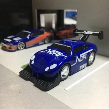 オマケ付 レーシングチャンピオン ワイルドスピード?1/64?青車