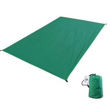 テントシート 軽量 防水 グランド マット 1〜4人用 グリーン