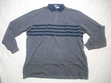37 男 POLO RALPH LAUREN ラルフローレン ラガーシャツ Lサイズ
