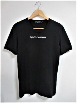 ☆ドルチェアンドガッバーナ ドルガバ プリント ロゴ Tシャツ 半袖 /メンズ/44
