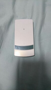DOCOMO ガラケー N906iu ホワイト ドコモ