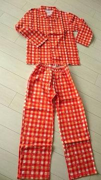栗山米菓(Befco)『ばかうけ』『バリン・ボリン』長袖パジャマ 非売品