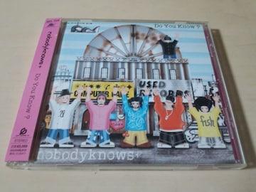 nobodyknows+ CD「Do You Know?」●