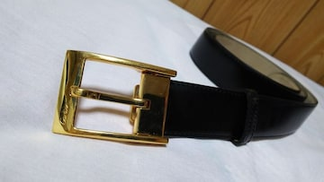 正規 カルティエ アルディロン タンク ゴールドバックルベルト黒 調節可 メンズ スクエアC
