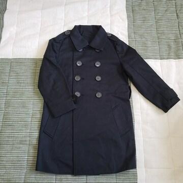 100cm フォーマルにも 薄手のコート 春 秋 BK