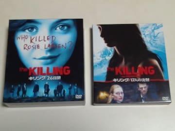 [DVD][送料無料]海外ドラマ the KILLING キリング/26日間&17人の沈黙
