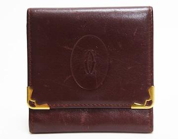 Cartierカルティエ 財布 コインケース マスト  良品 正規品
