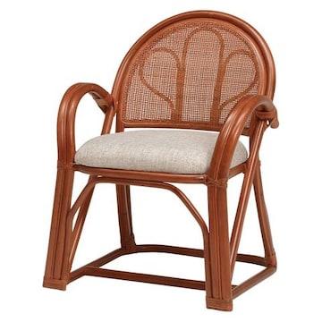 籐楽々座椅子 RZ-673BR(2個セット)