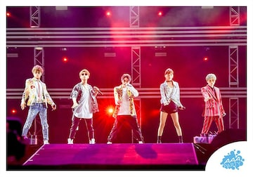 【生写真】AAA 集合 F●a-nation 2019●GURUポン!●新品