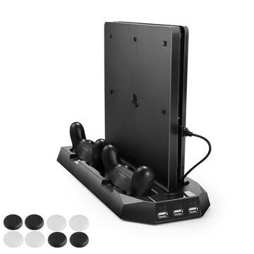 新型PS4スリム ps4 両用 縦置きスタンド