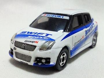 絶版トミカ��16 スイフトスポーツラリーカップカー