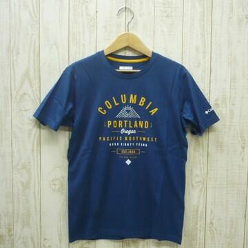即決☆コロンビア特価ポートランドTシャツNV/XL 新品 ネイビー 紺 半袖