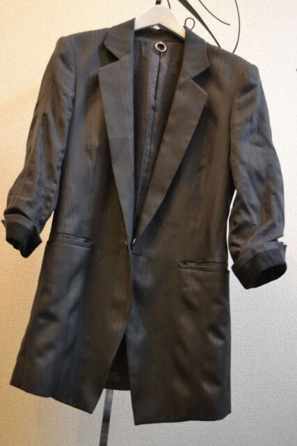 sistereシステレ 七分袖テーラードジャケット 0 < 男性ファッションの