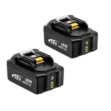 マキタ18v 互換バッテリー bl1860b 6000mAh