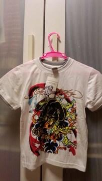 ハワイ購入エドハーディーキッズ用Tシャツ新品豹