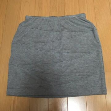 MURUA☆グレー スカート☆フリーサイズ☆美品