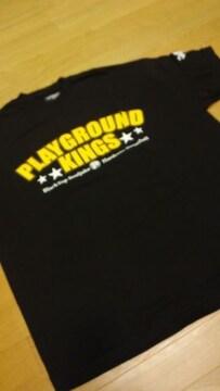 LA直輸入!PLAYGROUNDーKings 1970黒黄色プリント サイズ2XL XXL