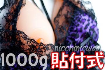 【超女子力】巨乳の存在感■シリコンバスト1000g人工乳房