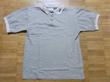 即決USA古着●鮮やか総柄デザイン半袖ポロシャツ!アメカジビンテージ