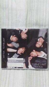 必見KAT-TUNTO THE LIMIT初回限定盤(DVD付)未開封オマケ